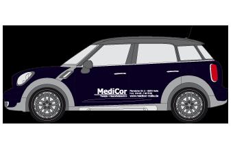 Fahrzeugbeschriftung-MediCor-1